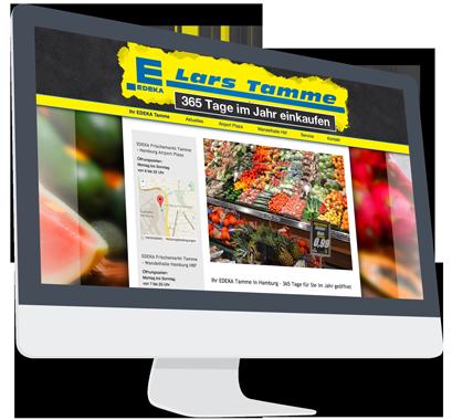 Website-Service Kunde Edeka Tamme
