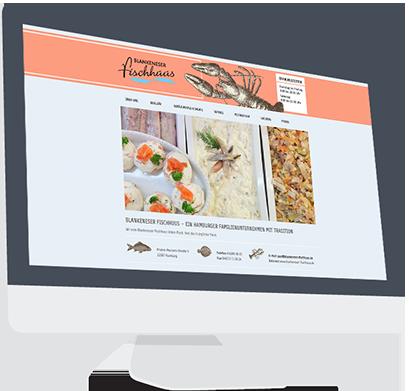 Website-Service Kunde Blankeneser Fischhuus