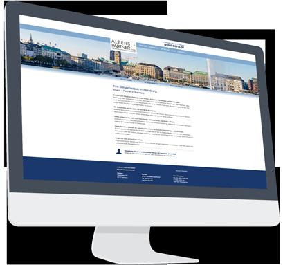 Website-Service Kunde Albers und Partner