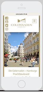 Website-Service Kunde Trägerverbund Colonnaden e.V.
