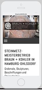 Website-Service Kunde Braun+Kohler