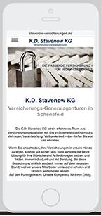 Website-Service Kunde K.D. Stavenow KG Versicherungs-Generalagenturen